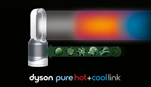 Dyson Pure Hot Cool Link空気清浄機能付ファンヒーター プロダクトデザイン ダイソン プロダクト