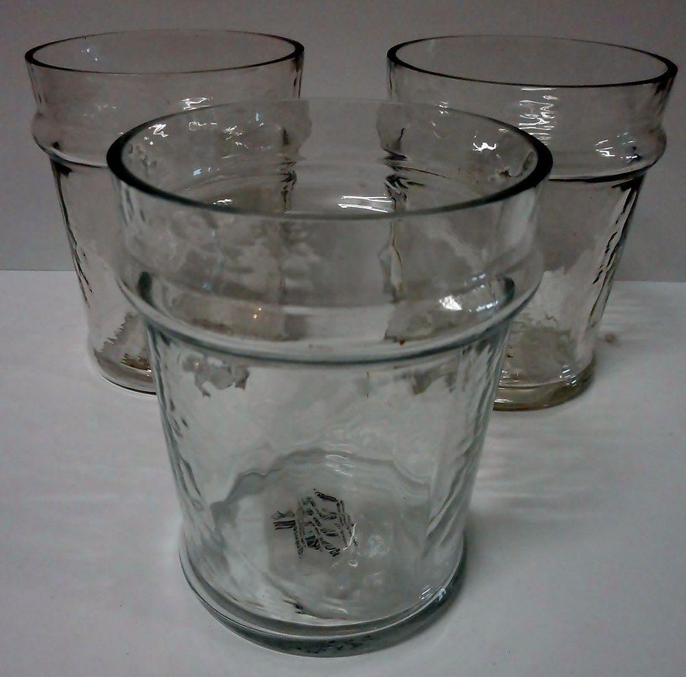 """Creative Coop DA0622 Secret Garden 4"""" Hammered Glass Votive Holder QTY 3 #CreativeCoop"""