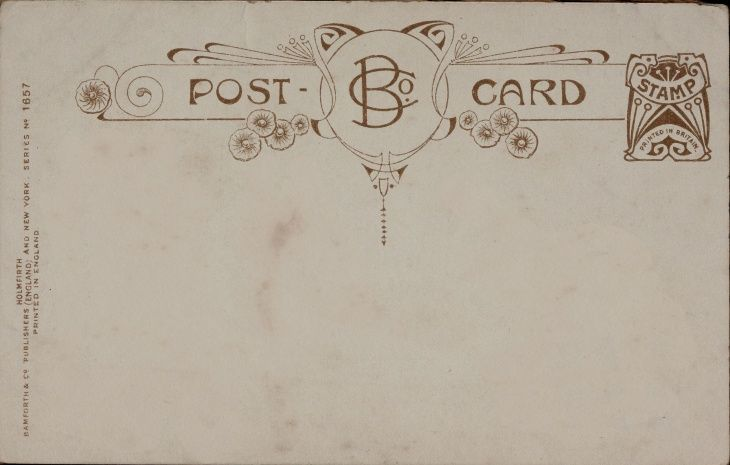 High Quality Old Postcard Texture