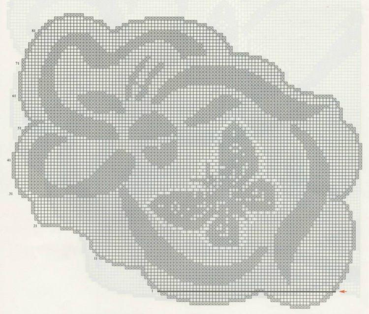 Decke Schmetterling | Häkeln / crochet / crocheté_diverses ...