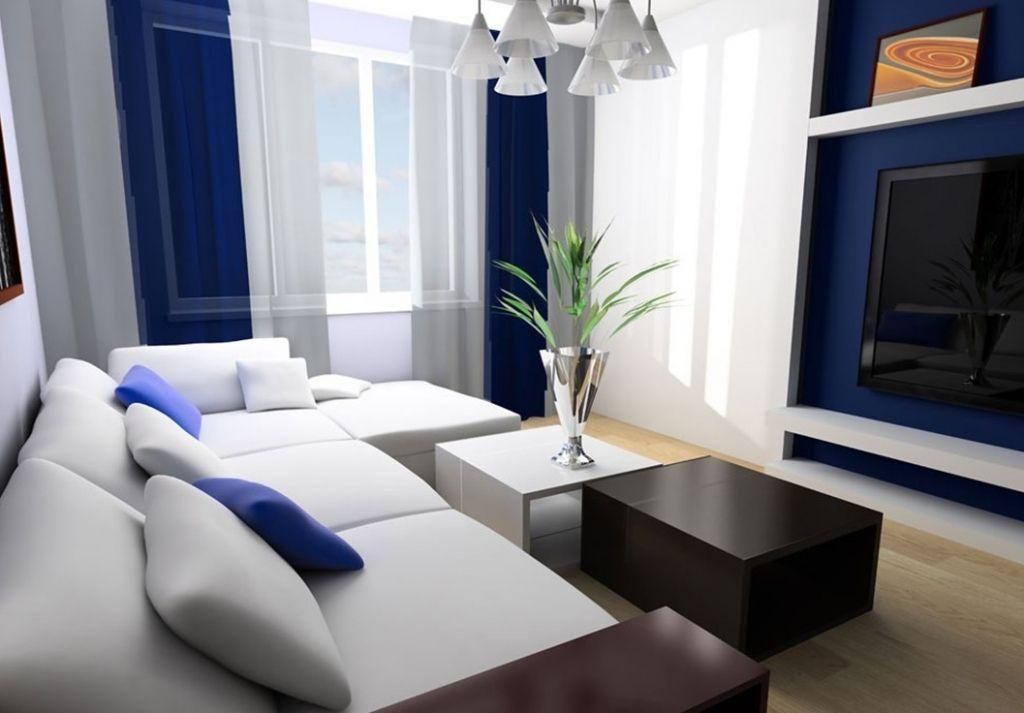 Blau Und Weiß Wohnzimmer Deko Ideen - Wohnzimmermöbel Diese vielen ...