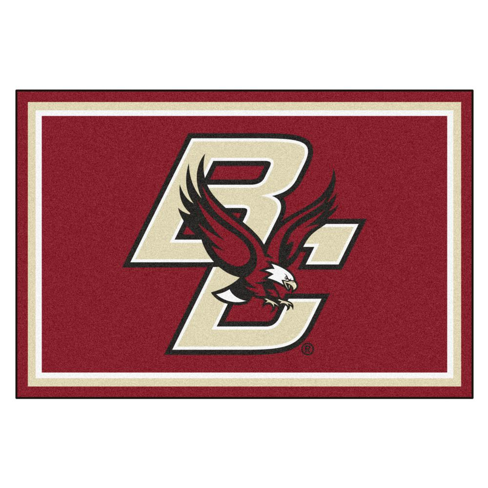 FANMATS NCAA Boston College Red 8 ft. x 5 ft. Indoor