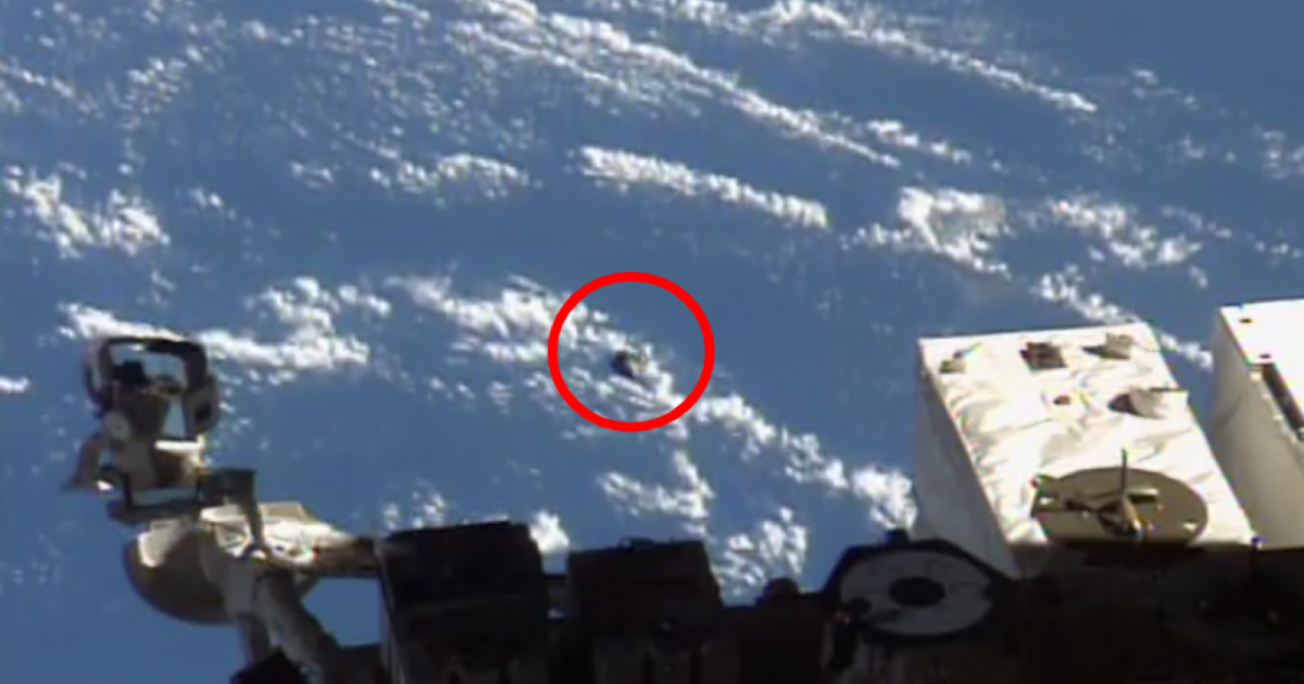 Photo of The Full Video Of Real Metallic UFO At The ISS