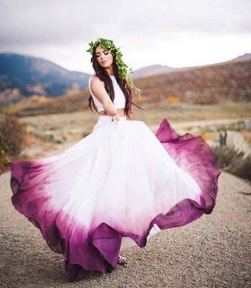 Wow! Das ist der mutigste Braut-Trend seit Langem | Wedding dress ...