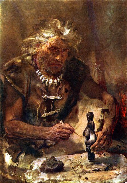 The Vestonice Venus By Zdenek Burian 1958 Prehistoric Art Stone Age Art Prehistoric Man