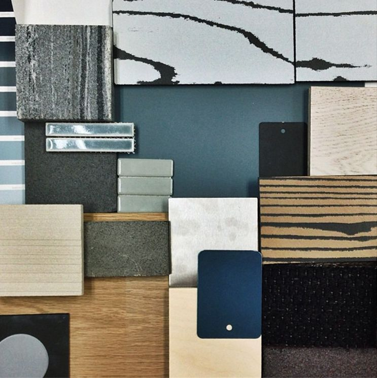Mood Board Materials Finishes Mim Design This Sample Board