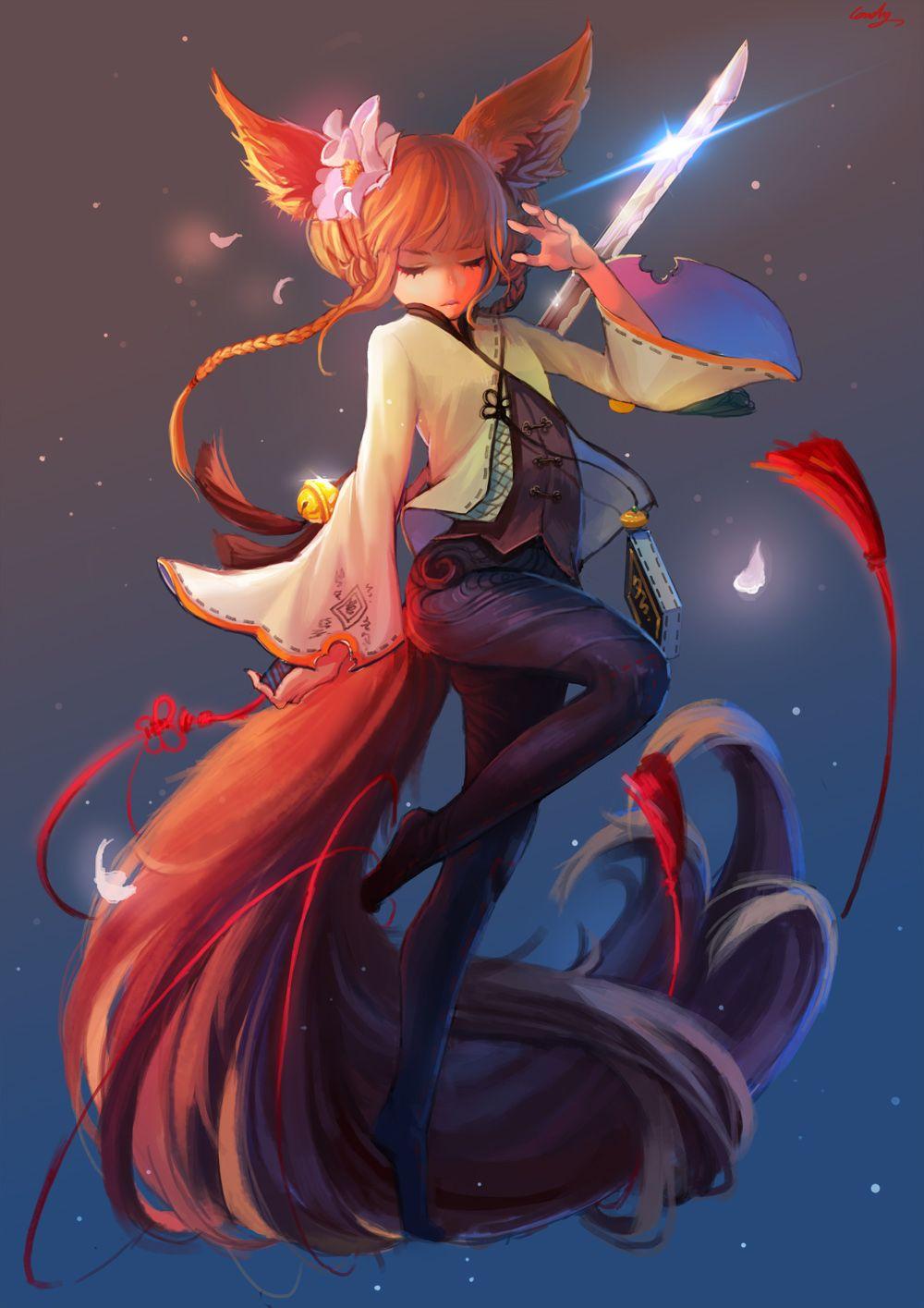 Race: Lyn Blade Dancer by Baoz | Blade and soul, Anime ...