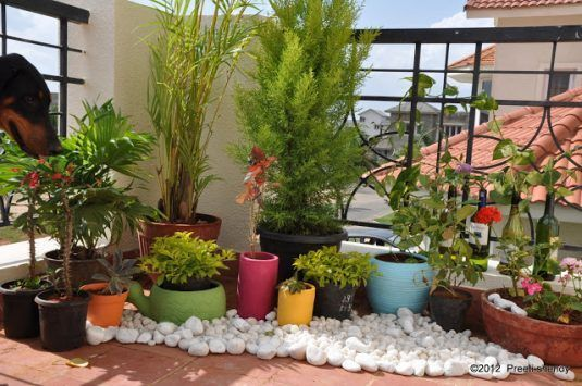13 Awesome Ways To Decorate Your Balcony With Pebbles Small Balcony Decor,  Small Balcony Garden
