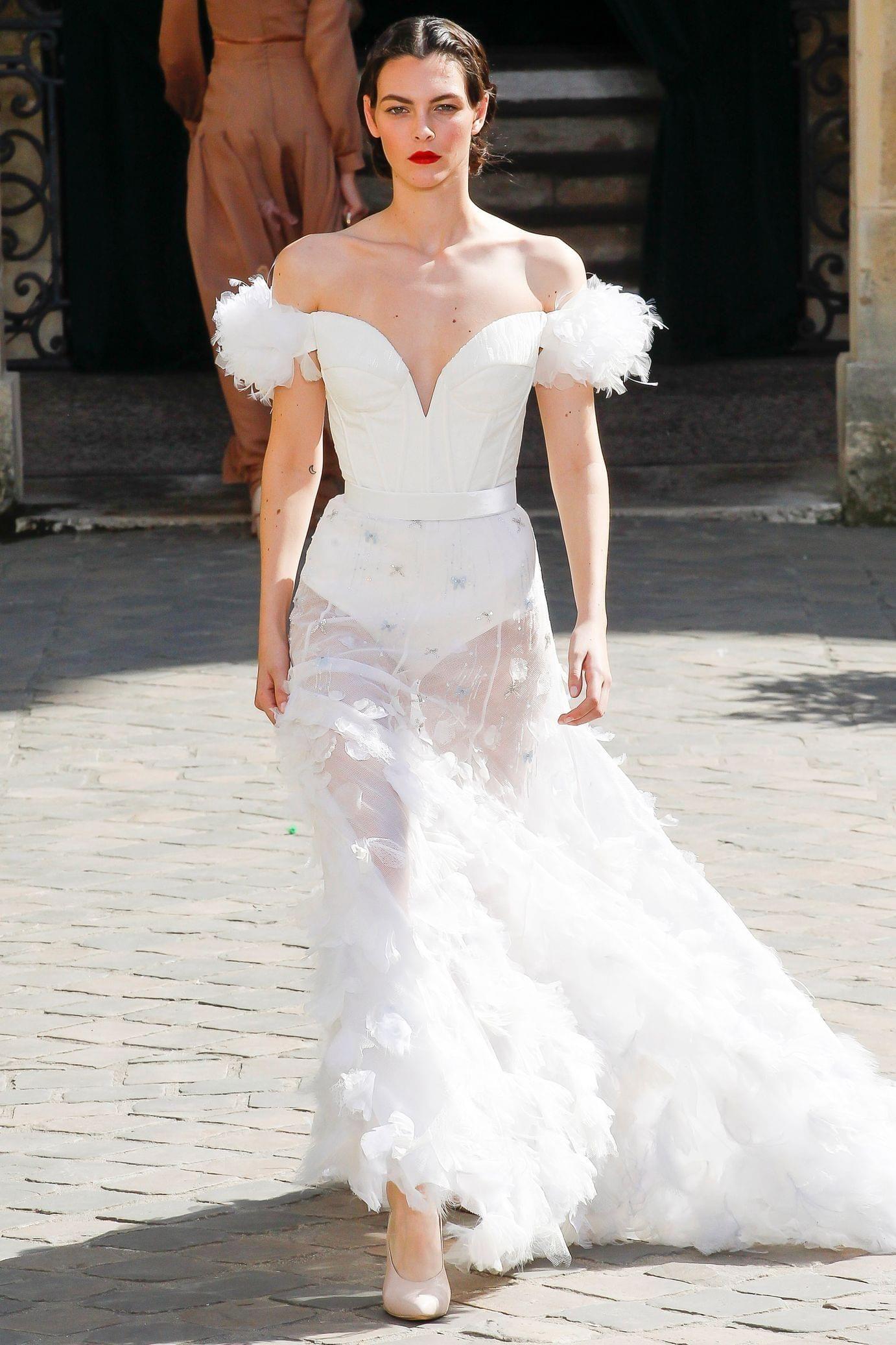 Elite wedding dresses  Ulyana Sergeenko Haute Couture FALLWINTER   Haute Couture
