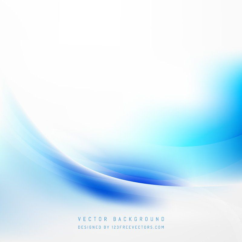 Abstract Blue White Wave Background Template Waves Background