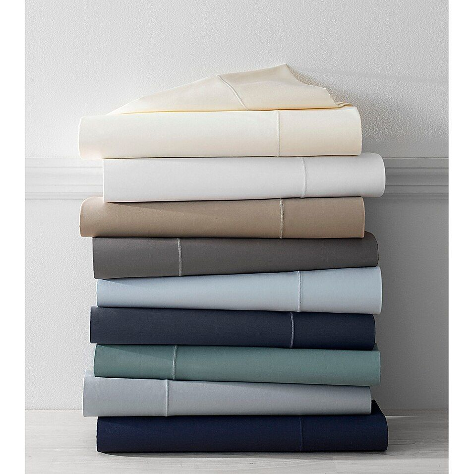 Wamsutta Pima  500-Thread-Count King Sheet Set In Grey - Experience luxury with the Wamsutta 500-Thread-Count Pima Sheet Set. Pure American Pima holds color better, fades less and the extra-long, dense fibers create an ultrafine fabric that is smooth, luxurious, and amazingly soft.
