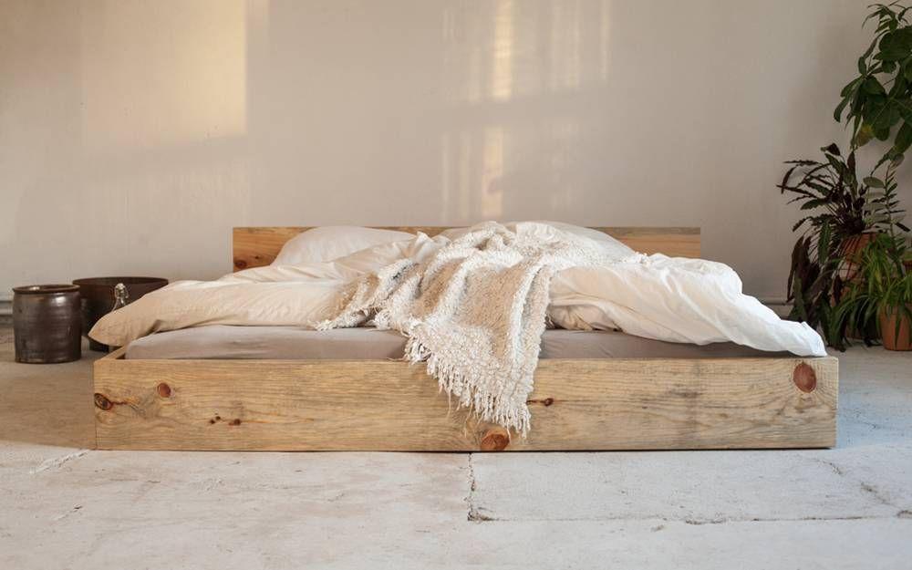 woodboom Bett stehend aus Kiefer Betten Pinterest - schlafzimmer kiefer massiv