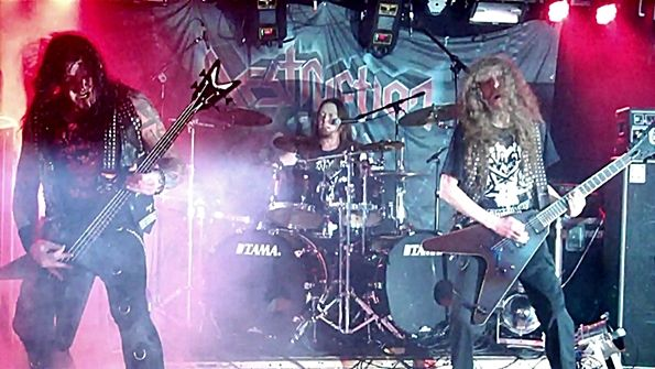 Krisiun Destruction Live The Marlin Room In Webster Hall Nyc