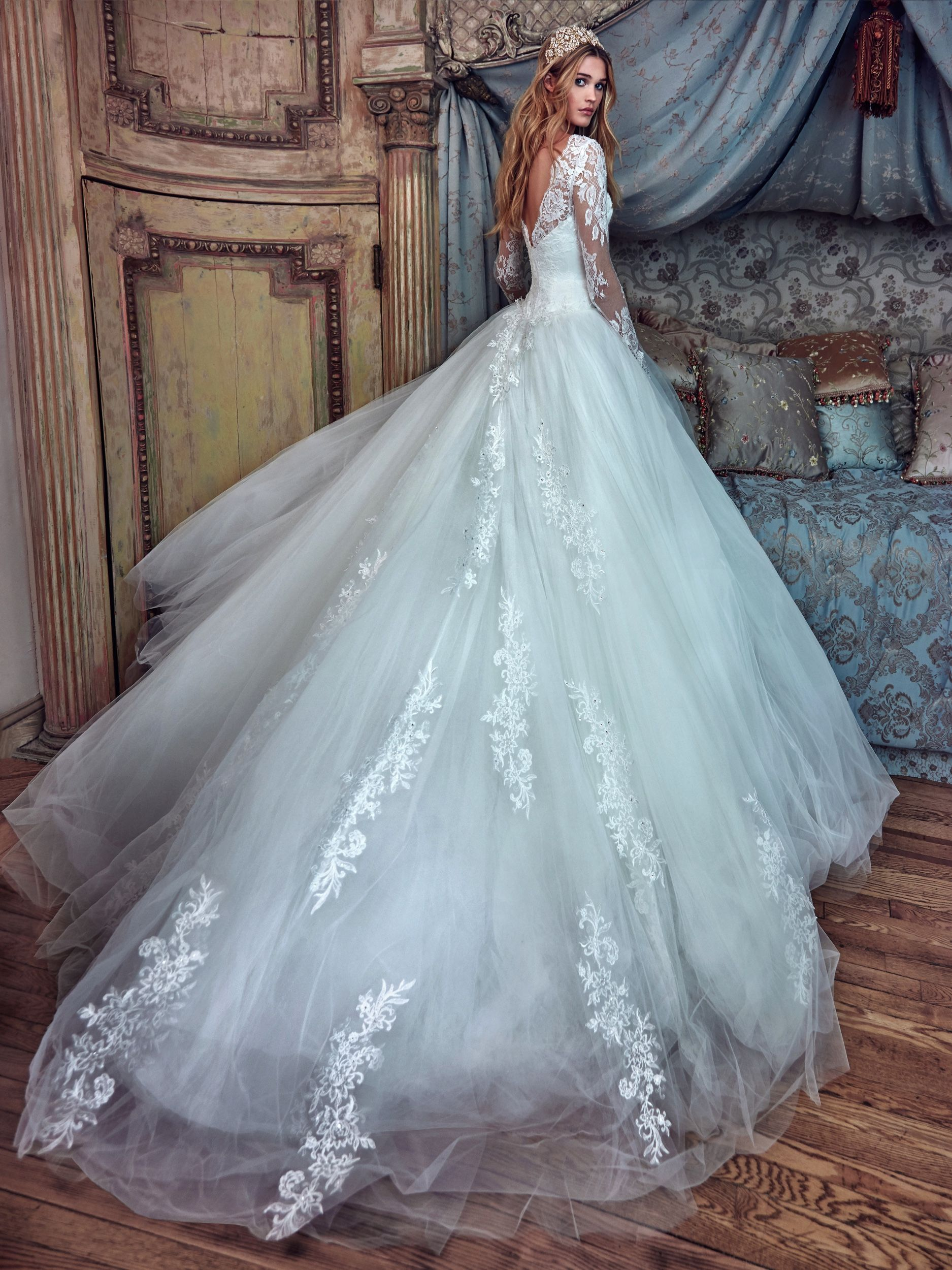 Dress by Galia Lahav | ropa | Pinterest | Vestidos de novia, De ...