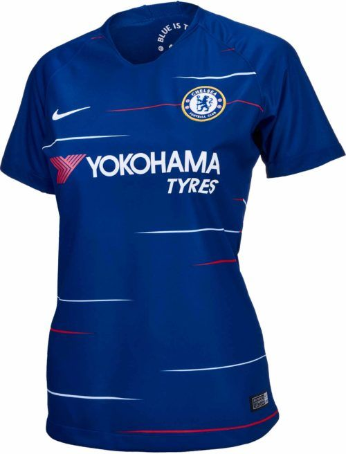 7597531e9 2018 19 Nike Chelsea Womens Home Jersey. Shop for it at SoccerPro.