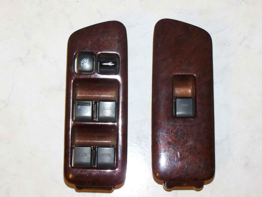9699 Infiniti I30 Right & left driver front Power Window
