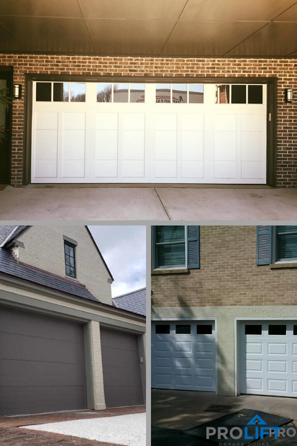 Pro Tip An Insulated Garage Door And Quiet Opener Are Needed If The Garage Is Under A Living Space Garage Doors Doors Diy Garage Door