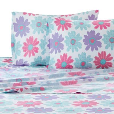 Buy Julissa Floral Twin Sheet Set from Bed Bath & Beyond