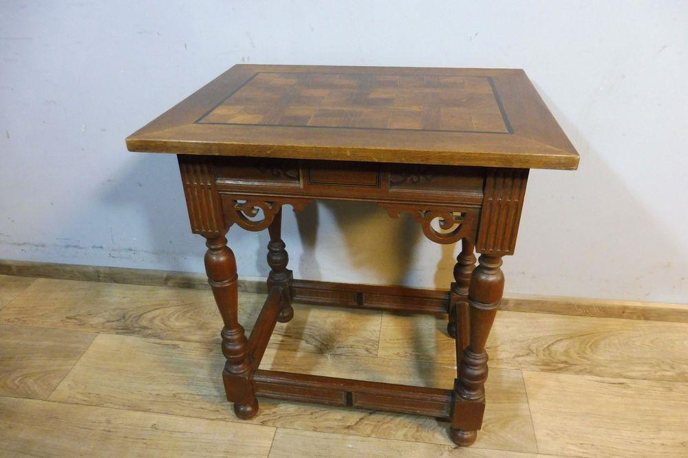 Beistelltisch Tisch Kommode Schrank In Massiv Eiche Antik Wohnzimmertisch Wohnzimmertisch Beistelltisch Tisch
