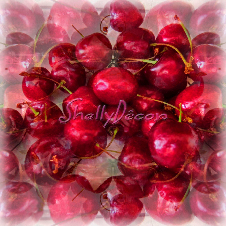 red cherries instant download, digital art, photo download