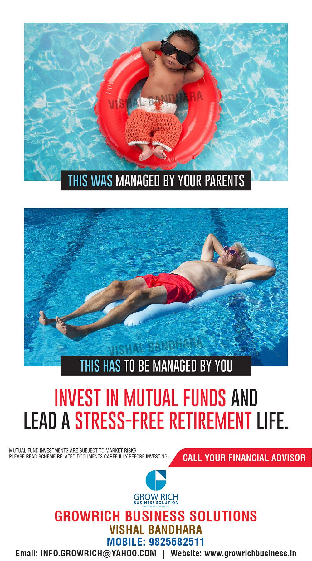 Save now and enjoy later financial advisors grow
