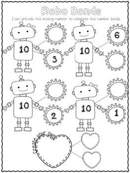 February in a Snap: No Prep Printables for Math and