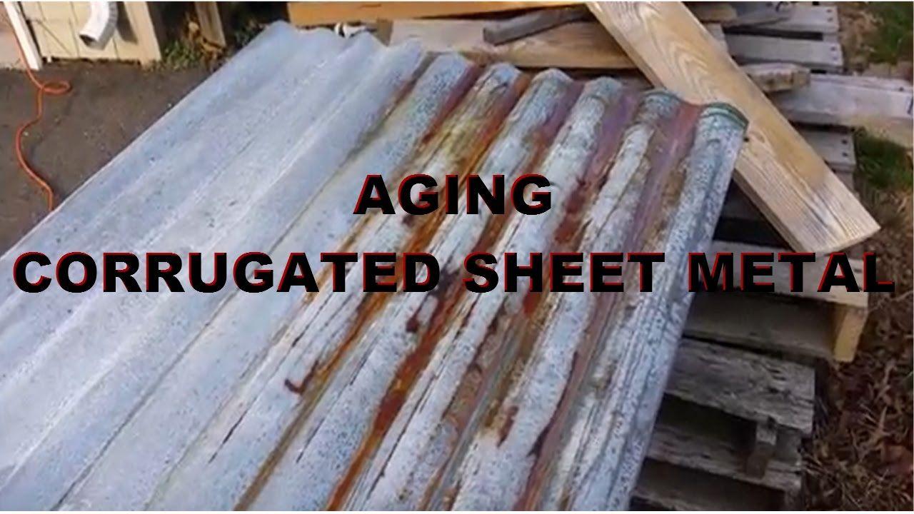 Aging Corrugated Steel Corrugated Metal Roof Galvanized Metal Roof Corrugated Metal Wall
