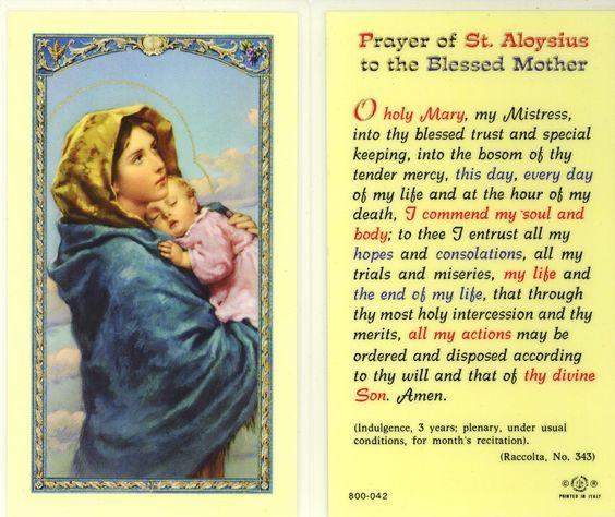 Our Morning Offering June 21 Pinterest Prayer Of Saint