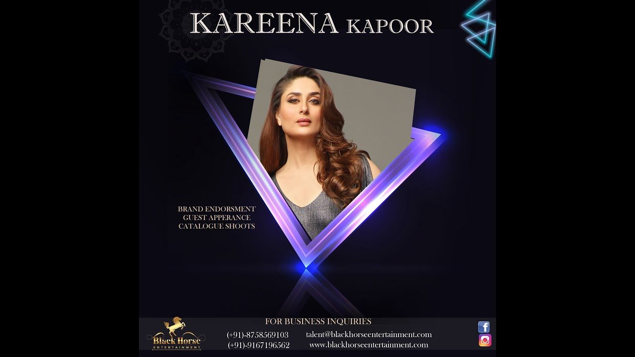 Kareena Kapoor Phone Number Event Booking Instagram News Photos Wh University Events Kareena Kapoor Event Management