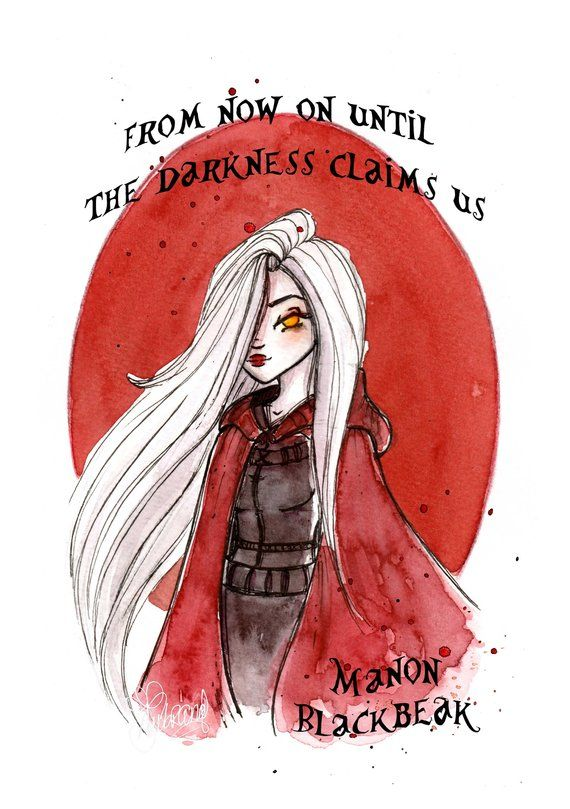 Print Throne of Glass Characters – Book art – Throne of Glass Fandom – Watercolor Art – Gift for Booknerds