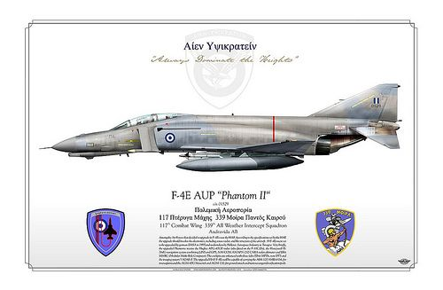 F 4e Aup Phantom Ii Haf Hellenic Air Force Fighter Jets Phantom