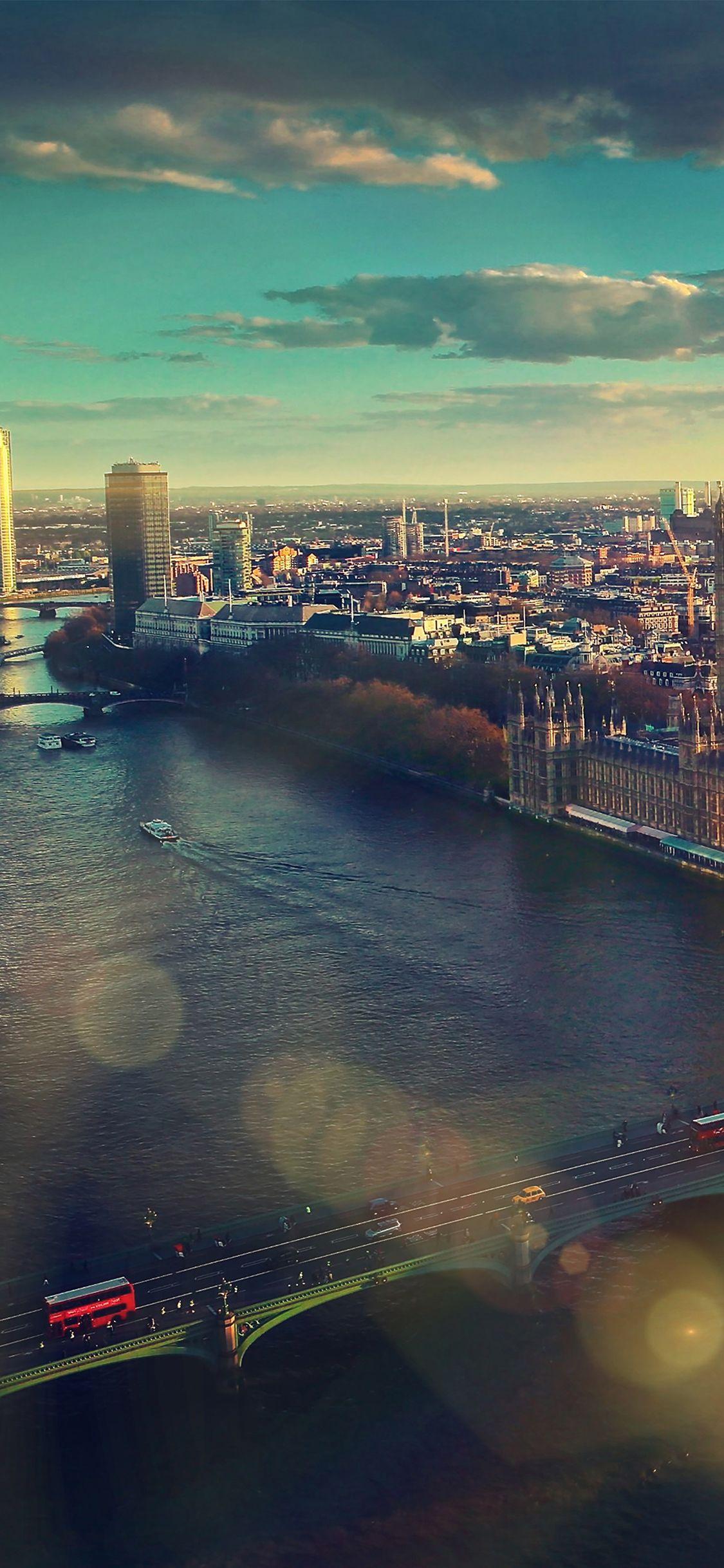 england london sky view city iphone x wallpaper | jolanta wolowicz