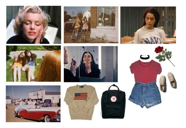 """""""don't fall in love with the moment & think your in love with the girl"""" by softgrrrl ❤ liked on Polyvore featuring American Apparel, Fjällräven, Polo Ralph Lauren, Abercrombie & Fitch and the1975"""