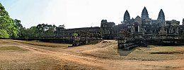 Temple at Angkor Wat in Cambodia.