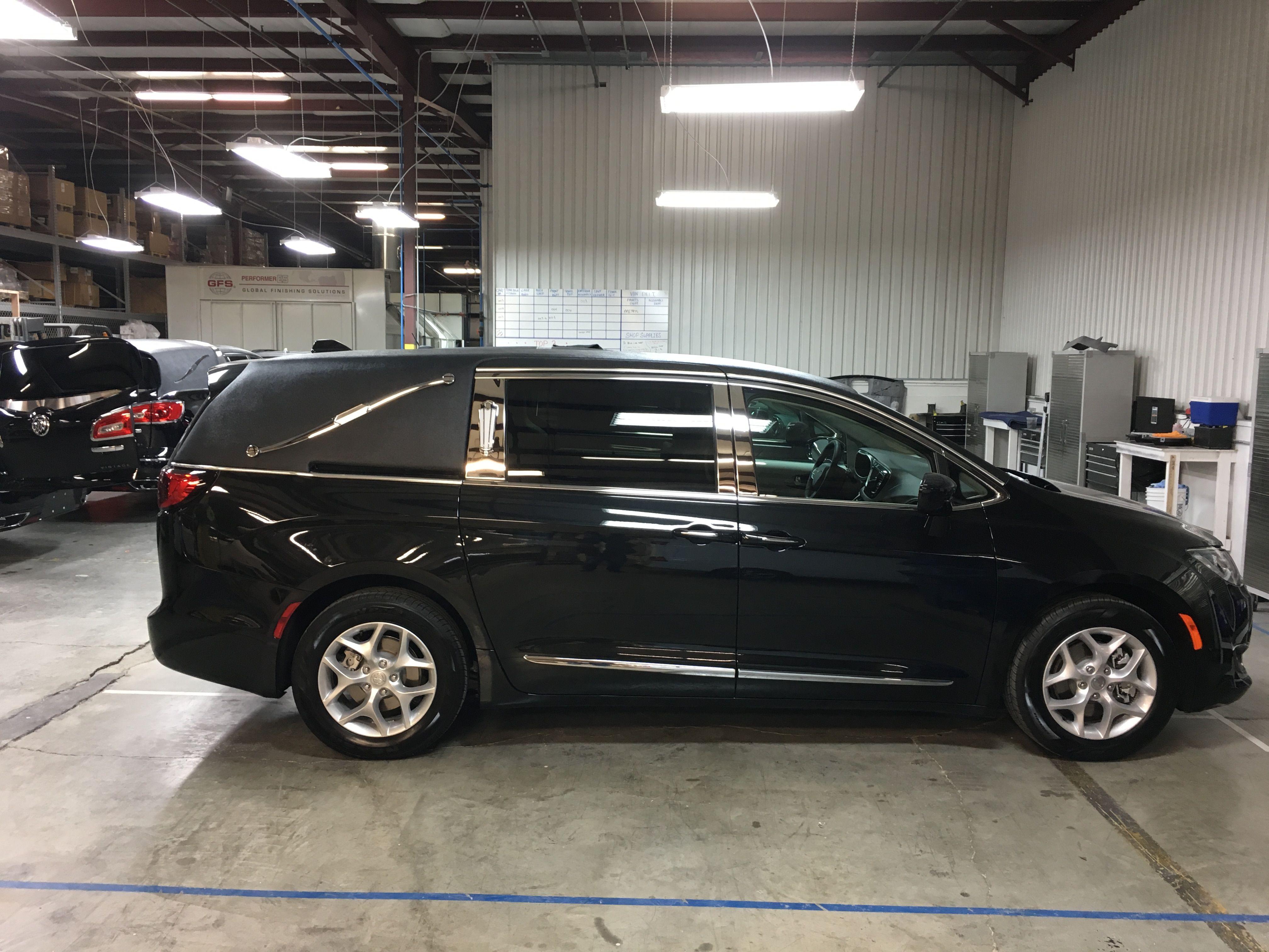 K2 Vehicles Chrysler Pacifica first call van | Business