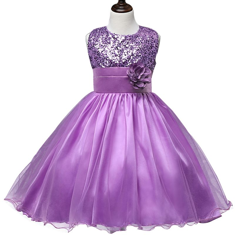 Flower Teenagers Kids Evening Party Dresses For Girl //Price: $15.76 ...