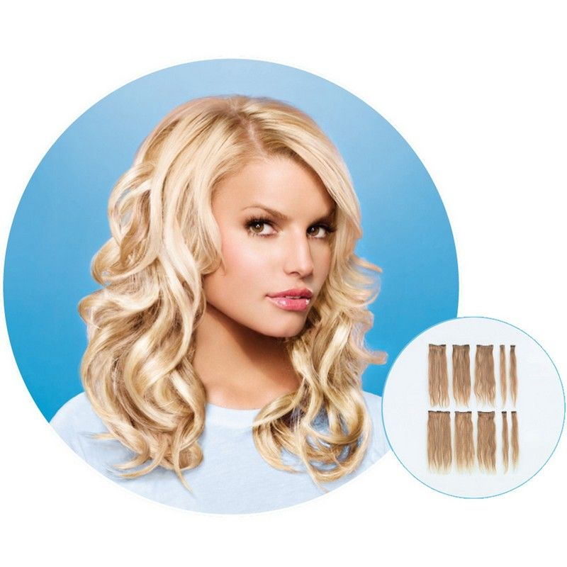 Jessica Simpson Clip In Hair Extensions Human Hair Extensions
