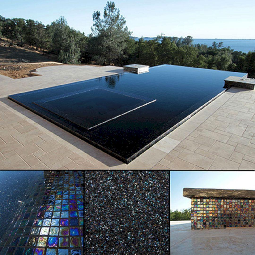 60 Astonishing Swimming Pool Minimalist With Black Tile Ideas Black Tiles Tile Ideas And