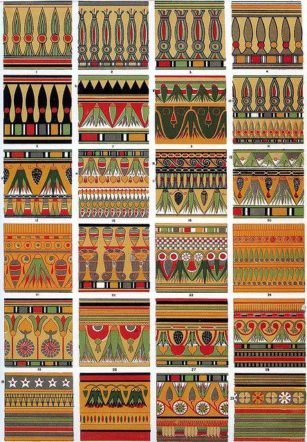Owen Jones Egyptian Decoration 1856 By Design Decoration