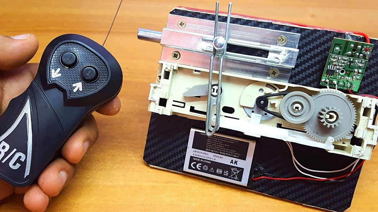How to Make Remote Control Door Lock at Home Remote