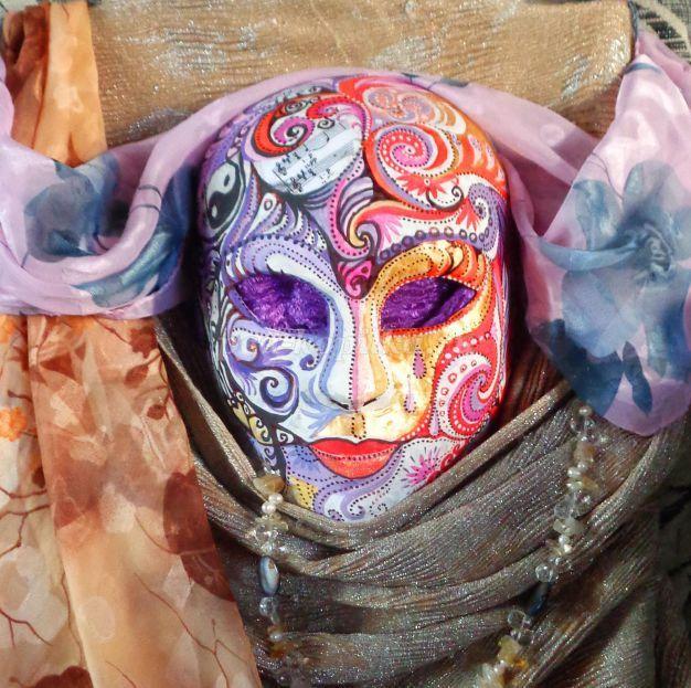 карнавальная маска изо 2 класс