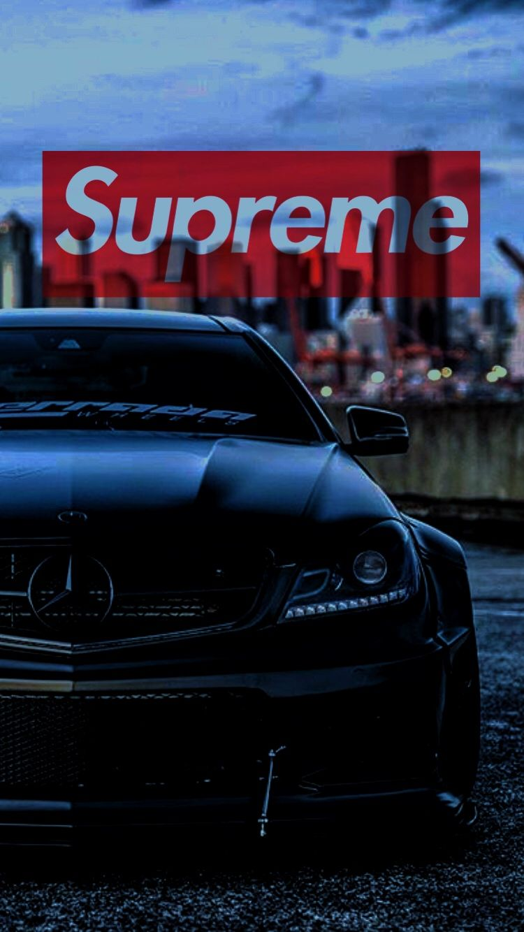 Ig Vader C63 Supreme Wallpaper Car Wallpapers Supreme Wallpaper Hd