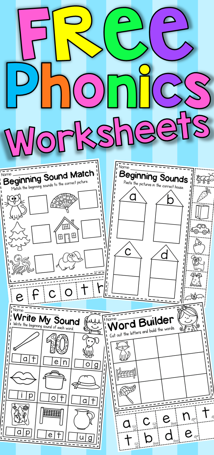 Free beginning sound and phonics worksheets for pre school and free beginning sound and phonics worksheets for pre school and kindergarten students robcynllc Gallery