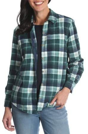 85fdc9134a0 Lee Riders Women's Long Sleeve Knit Fleece Shirt in 2019 | Products ...