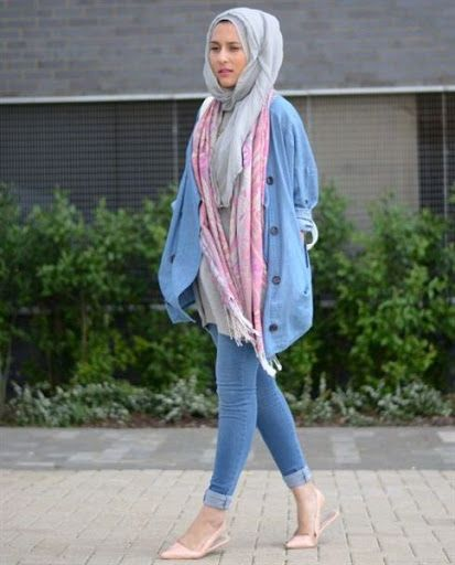 Trend Model Busana Hijab Casual Remaja Terbaru 2016 2017 Tennyson Multichoice Pinterest