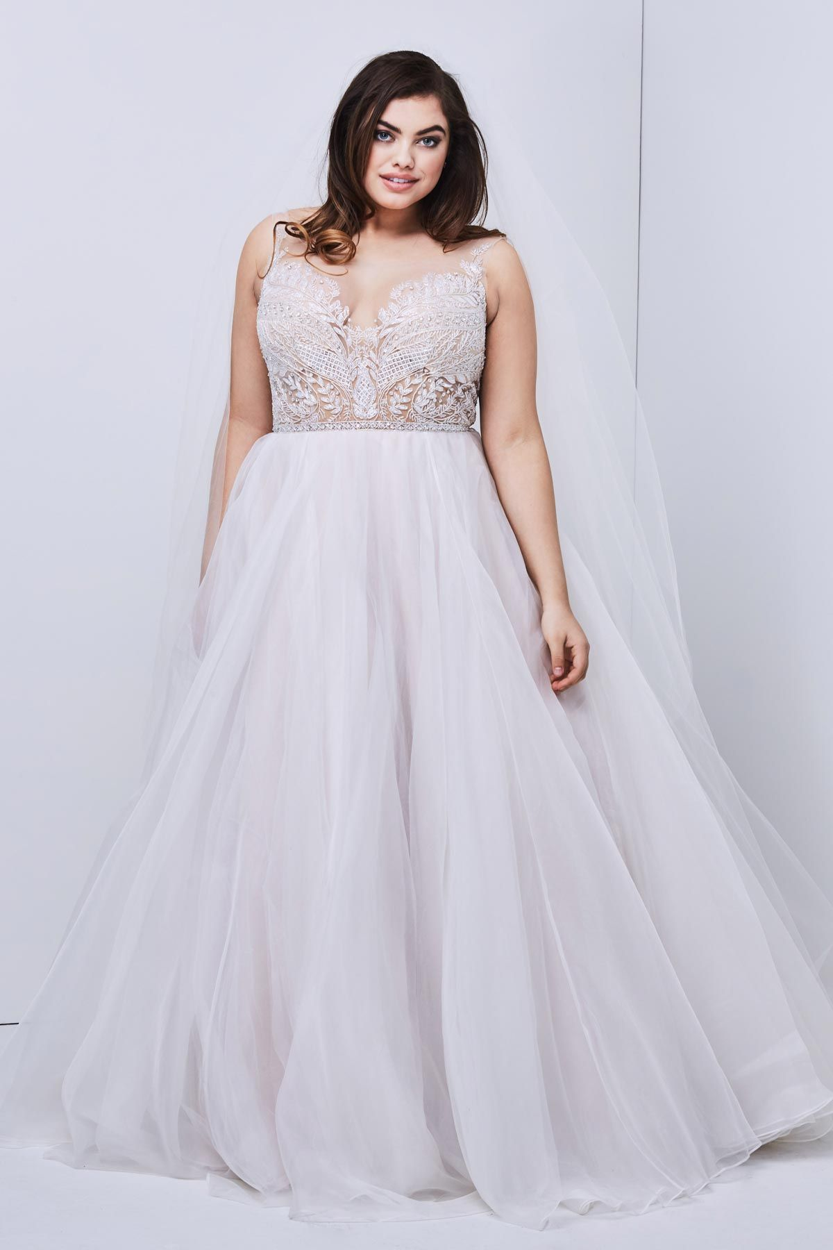 a7e3de769c2 38 Gorgeous Plus Size Wedding Dresses For Every Style And Budget