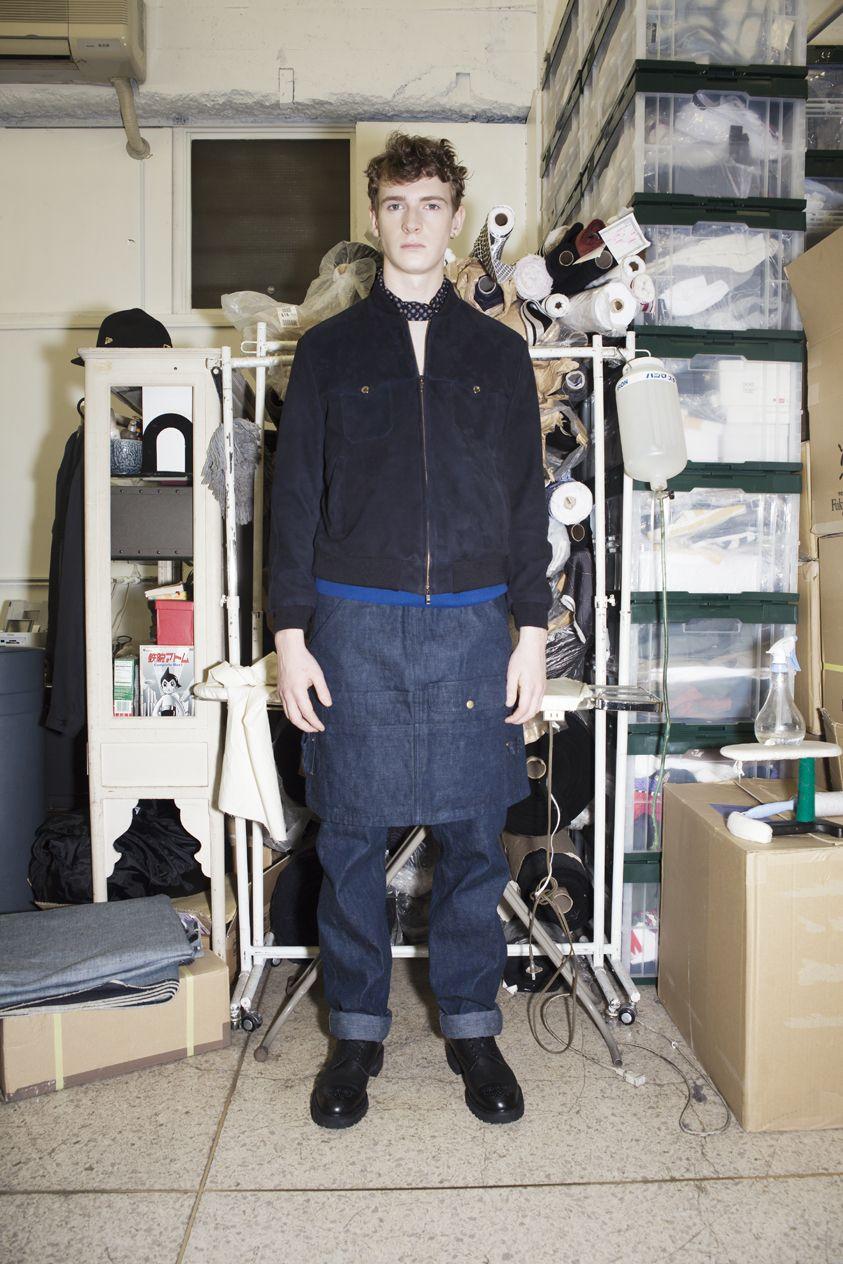 Introducing the #soe_tokyo men's wardrobe #FW12 collection