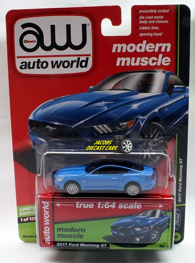 Beau Auto World Premium 2017   2017 Ford Mustang GT Modern Muscle Series