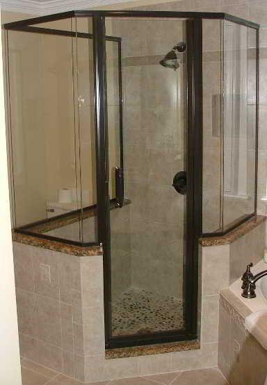 corner shower | Corner Shower Wall Panels | Home Ideas | Pinterest ...