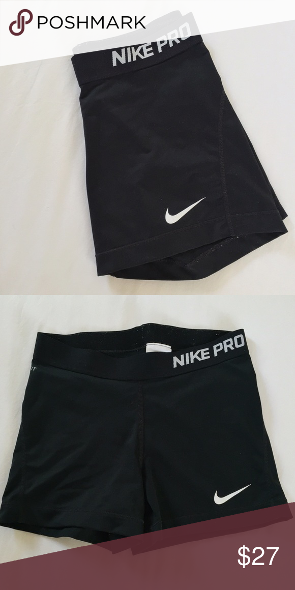 08fafbac8abb BNWOT Black Nike Pro Spandex Brand new without tags. In perfect condition.  Size M. Nike Shorts